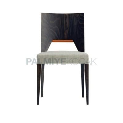 Ahşap Modern Kontralı Kayın Sandalye