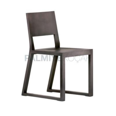Bekleme Modern Ahşap Sandalyesi