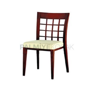 Cafesi Otel Modern Ahşap Sandalyesi