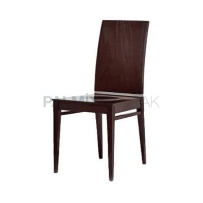Modern Cilalı Parlak Papel Sandalye