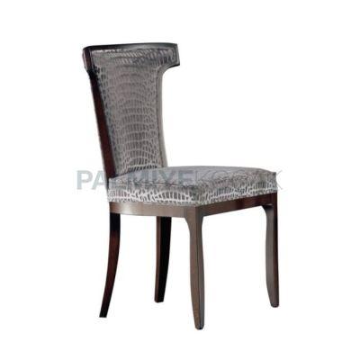 Modern Döşemeli Deri Timsah Sandalye