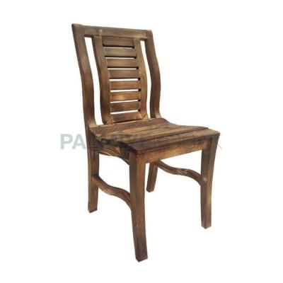 Bahçe Cafe Çam Sandalyesi