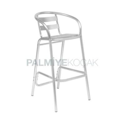 Bar Alüminyum Kollu Sandalyesi