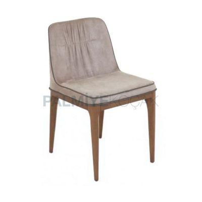 Cafe Bej Poliüretan Sandalyesi