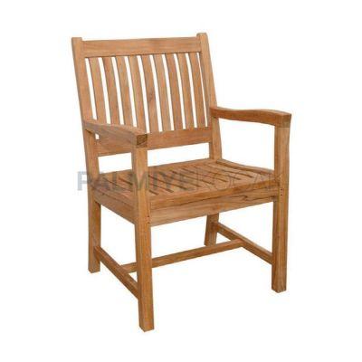 Cafe Kollu İroko Sandalyesi