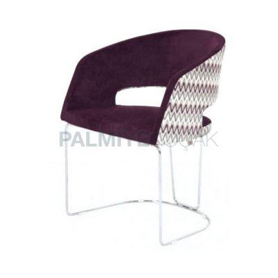 Demir Çubuk Sandalye Kollu Poliüretan Ayaklı