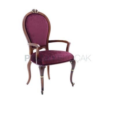 Fusia Sırtlı Oval Sandalye