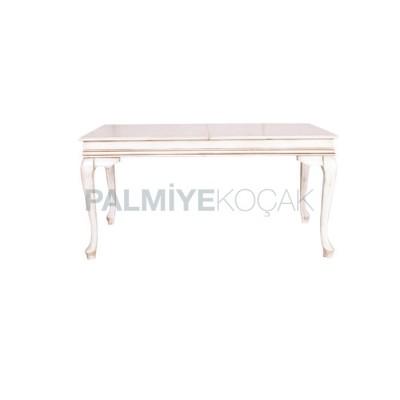 Lukens Patinalı Beyaz Masa