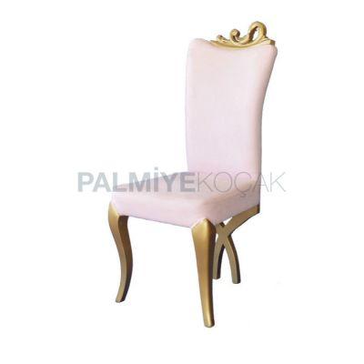 Klasik Boyalı Yaldız Ayak Lukens Sandalye