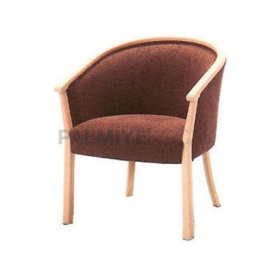 Kollu Boyalı Meşe Açık Sandalye