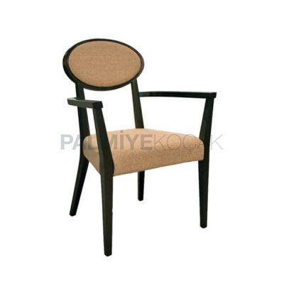 Kollu Klasik Boyalı Wenge Sandalye