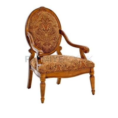 Kollu Klasik Sırtlı Oval Sandalye