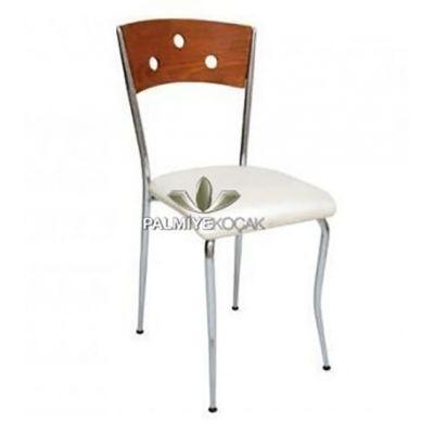 Kromajlı Metal Sandalye