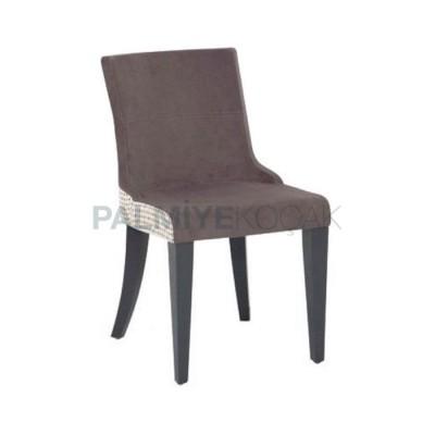 Poliüretan Boyalı Gri Sandalye