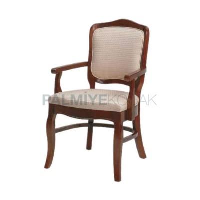 Restaurant Cilalı Kollu Klasik Sandalyesi