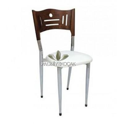 Restaurant Kaplı Krom Sandalyesi