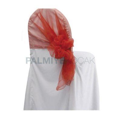 Sandalye Kumaş Jarse Beyaz Giydirme