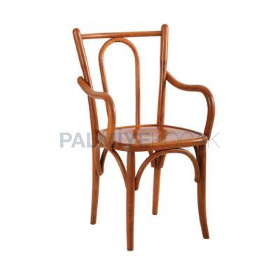 Otel Eskitme Açık Kollu Sandalyesi