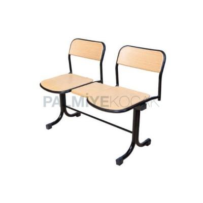 Bekleme Verzalit Kişilik İki Sandalyesi